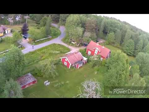 Syma X8G video from Mariestad country side. Julamosse.. Sweden from above.  Summer in Sweden.