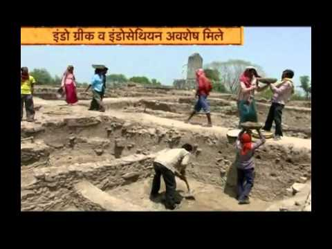 Archaeological treasures found at the banks of Kharun river