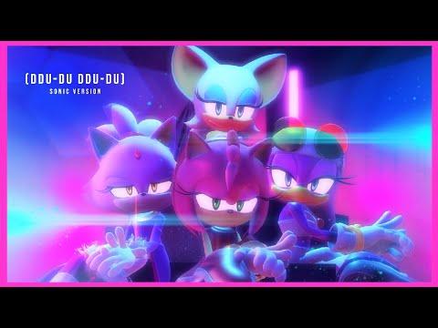 【Sonic MMD】BLACKPINK「DDU-DU DDU-DU 💎」| Amy, Blaze, Rouge & Wave Version |【full version】