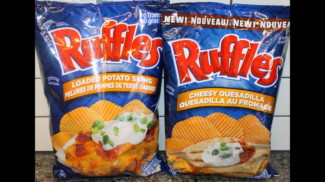 Canadian Ruffles: Loaded Potato Skins \u0026amp; Cheesy Quesadilla Review ...
