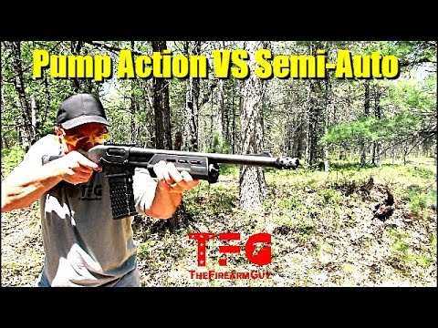 Download 12 Gauge Shotgun - Pump Action VS Semi-Auto - TheFireArmGuy