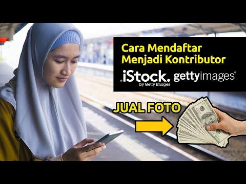 100% DITERIMA! Cara Daftar Jadi Kontributor Istock/Gettyimages via Handphone - Microstock Indonesia