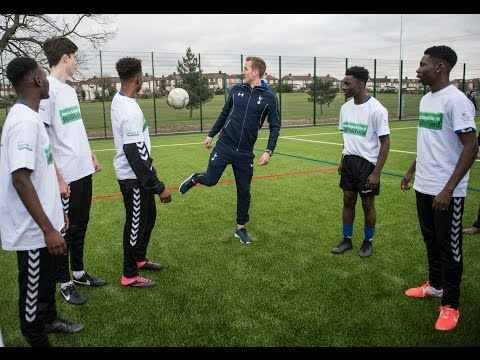 "Spurs and England star Harry Kane opens ""amazing"" new £580,000 3G pitch"