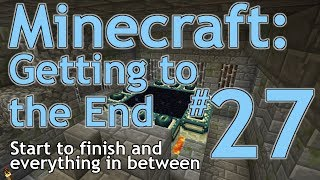 Minecraft GTTE #27: Battling Cave Spiders