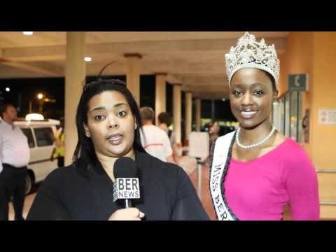 Milika Trott Seymour Miss Bermuda Organiser Returns From Miss World November 10 2011