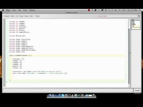 Slot Machine in Java  part 2.mp4