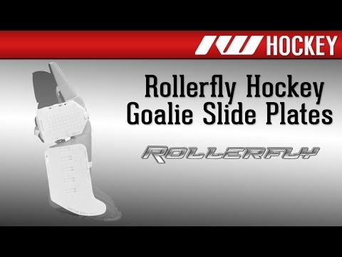 Rollerfly Roller Hockey Goalie Slide Plate Review