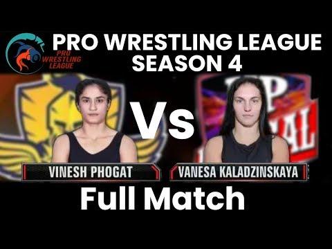 PWL 4 Day 8: Vinesh Phogat vs Vanesa Kaladzinskaya | Mumbai Maharathi vs UP Dangal | Full Match