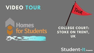 College Court - Student Accommodation in Stoke on Trent: Accommodation Tour