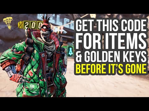 Borderlands 3 Shift Codes For UNLIMITED Golden Keys & Christmas Items (Borderlands 3 Christmas Event thumbnail