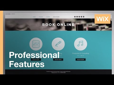 The Easiest Way to Get Booked & Paid Online | Wix Bookings