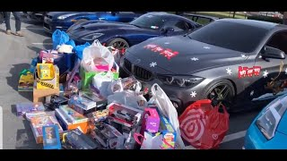 """Toys for Tots"" with EMJ motors and Alwaysnboost car meet"