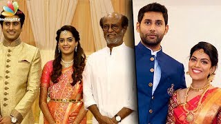 Kannadasan's Grandson , AVM Studios daughter Weddings | Latest News | Aadhav Marriage, Rajinikanth