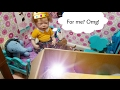 MOLLY Gets A Surprise Package Box Opening Molly S Room Tour Reborn Baby Doll mp3