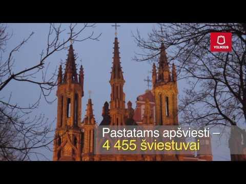 Kiekvieną vakarą Vilniuje įsižiebia 48 032 šviestuvai!