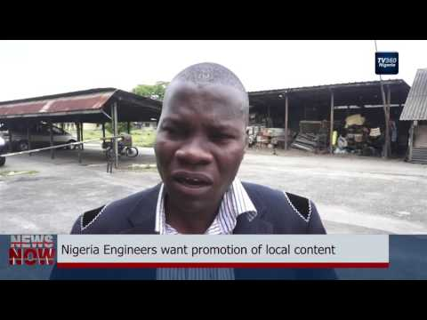 Nigeria Engineers want promotion of local content