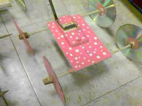Mouse Trap Car Examples And Distances Part One Youtube