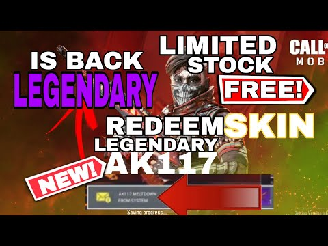 *NEW* Legendary Skin - Redeem Code In Call Of Duty Mobile| March