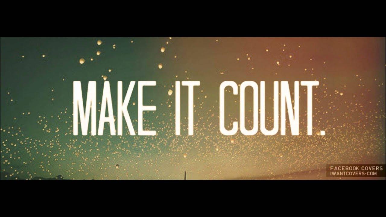 Wallpaper Desktop Quote Mastiff Make It Count Youtube
