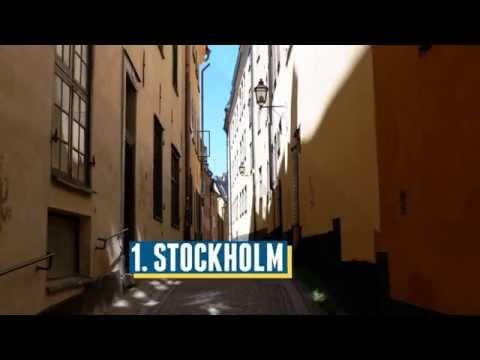 Top 13 Destinations in Sweden