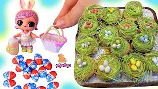 Кукла ЛОЛ Spring Bling! Мини Киндеры! Капкейки на Пасху! Target Easter Eggs Haul! LOL Surprise Doll