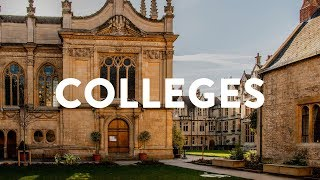 Oxford's colleges