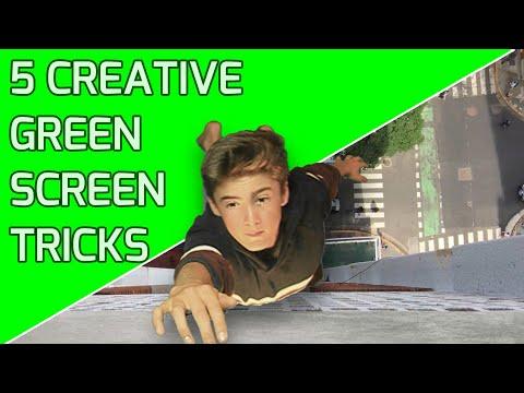 5 CREATIVE Green Screen TRICKS