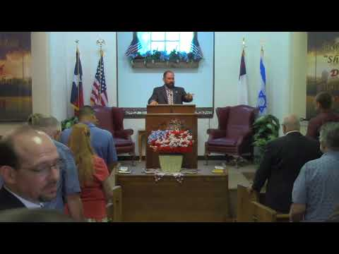 Sunday Morning Service 7-23-2017