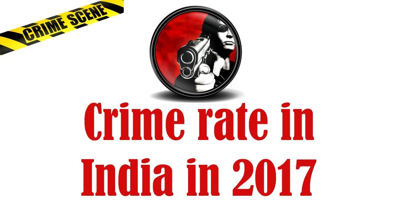 Crime rate in India in 2017