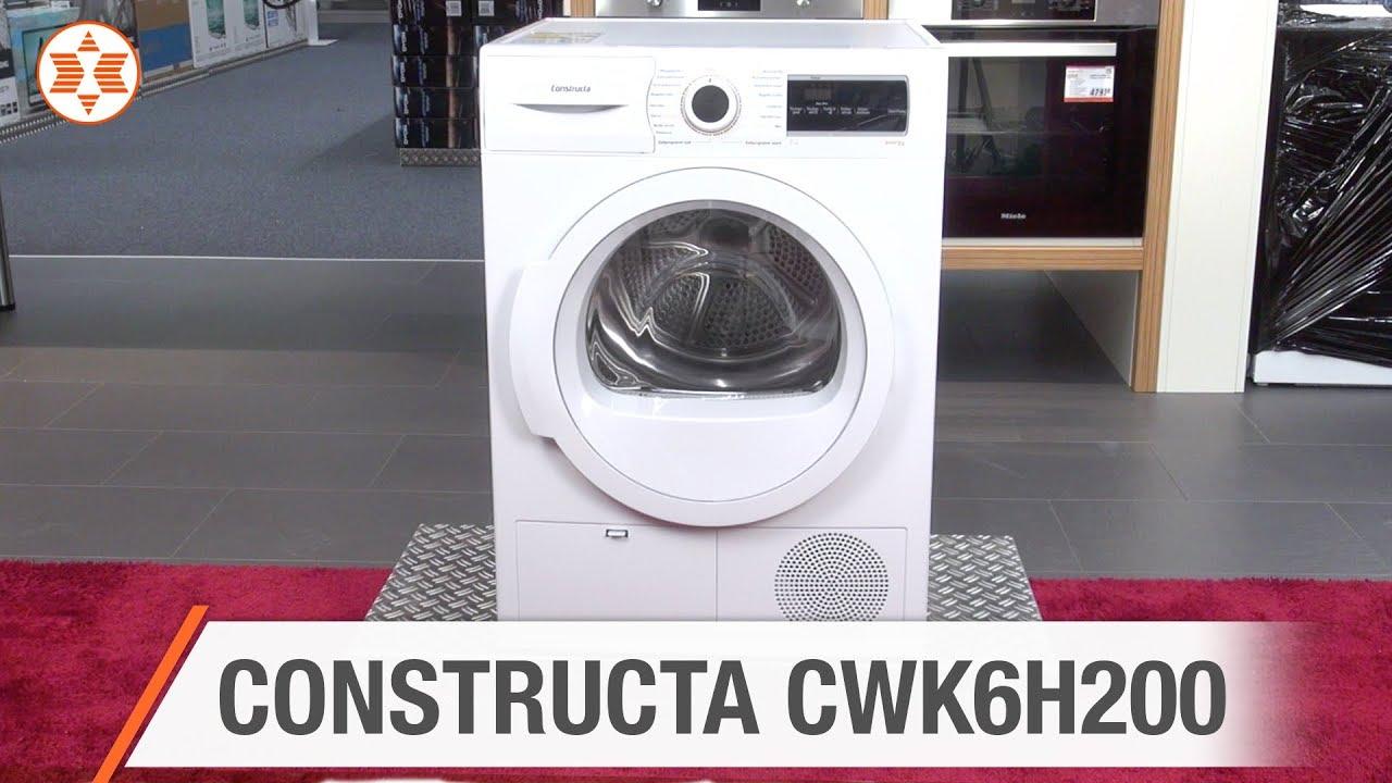 Constructa trockner cwk6h200 experten angebot der woche youtube