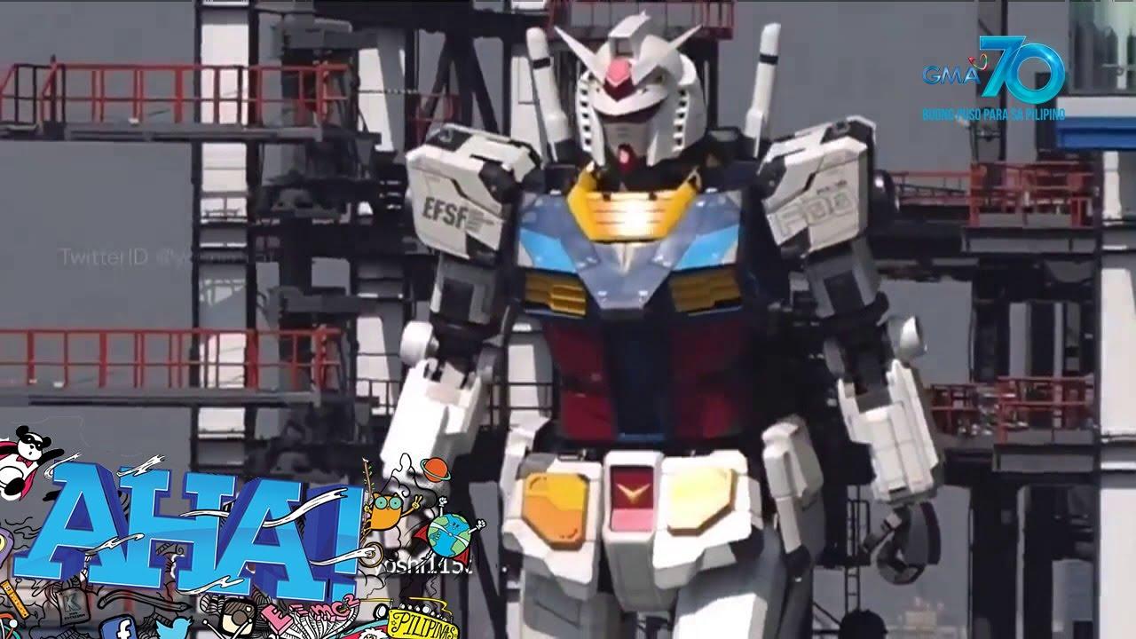 AHA!: Gundam is real?!