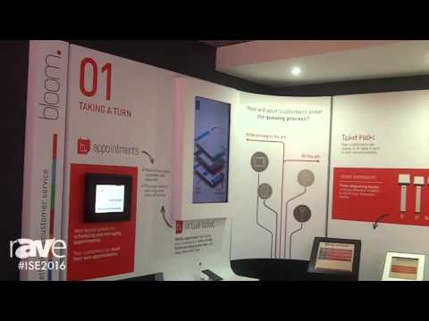 ISE 2016: Q-Better Presents Bloom Customer Flow Management System