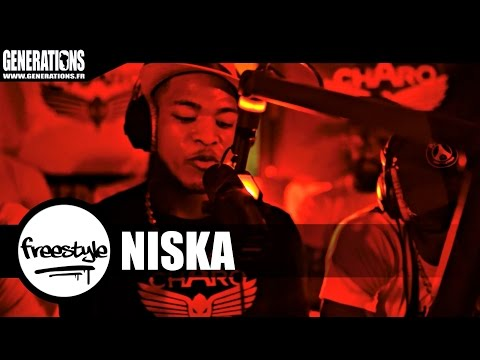 Youtube: Niska – Freestyle #CharoLife (Live des studios de Generations)