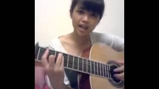 [Guitar cover] girl xinh cover guitar người nào đó