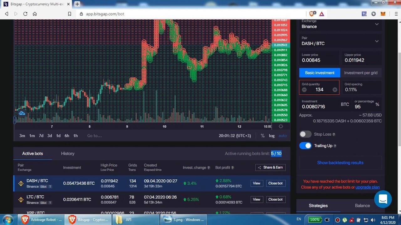 automatizált bitcoin trading program