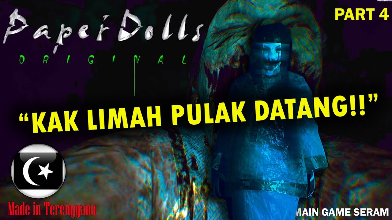 """KAK LIMAH PULAK DATANG!!"" PAPER DOLL ORIGINAL Gameplay Part 4 (Pok Ro) [Malaysia]"