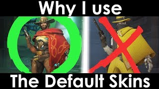 Why I Use Default Skins in Overwatch