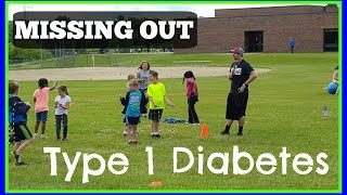 Social Situations and Type 1 Diabetes at School | Missing Out