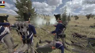 Mount and Blade Warband:Napoleonic wars NWL 84e vs IVe_45e