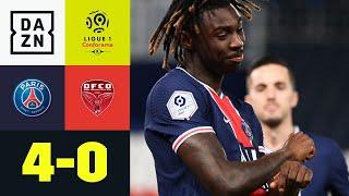 Doppelpacker Kean und Mbappe sorgen für Sieg gegen Schlusslicht: PSG – Dijon 4:0 | Ligue 1 | DAZN