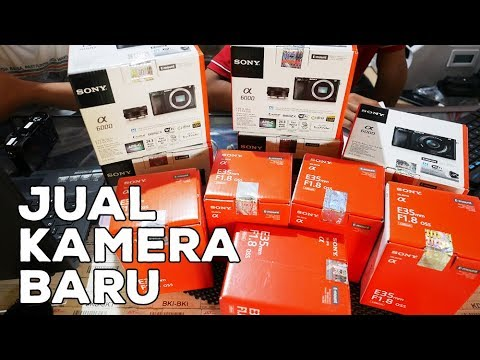 Mulai Jual Kamera Baru | Butuh Suplier Canon, Sony, Fujifilm, Nikon