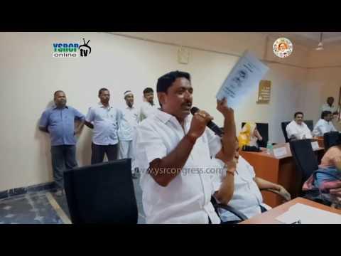 Kurnool : YSRCP Leaders speaks on TDP Cheap politics over Development fund in Nandyal - 1st Jun 17