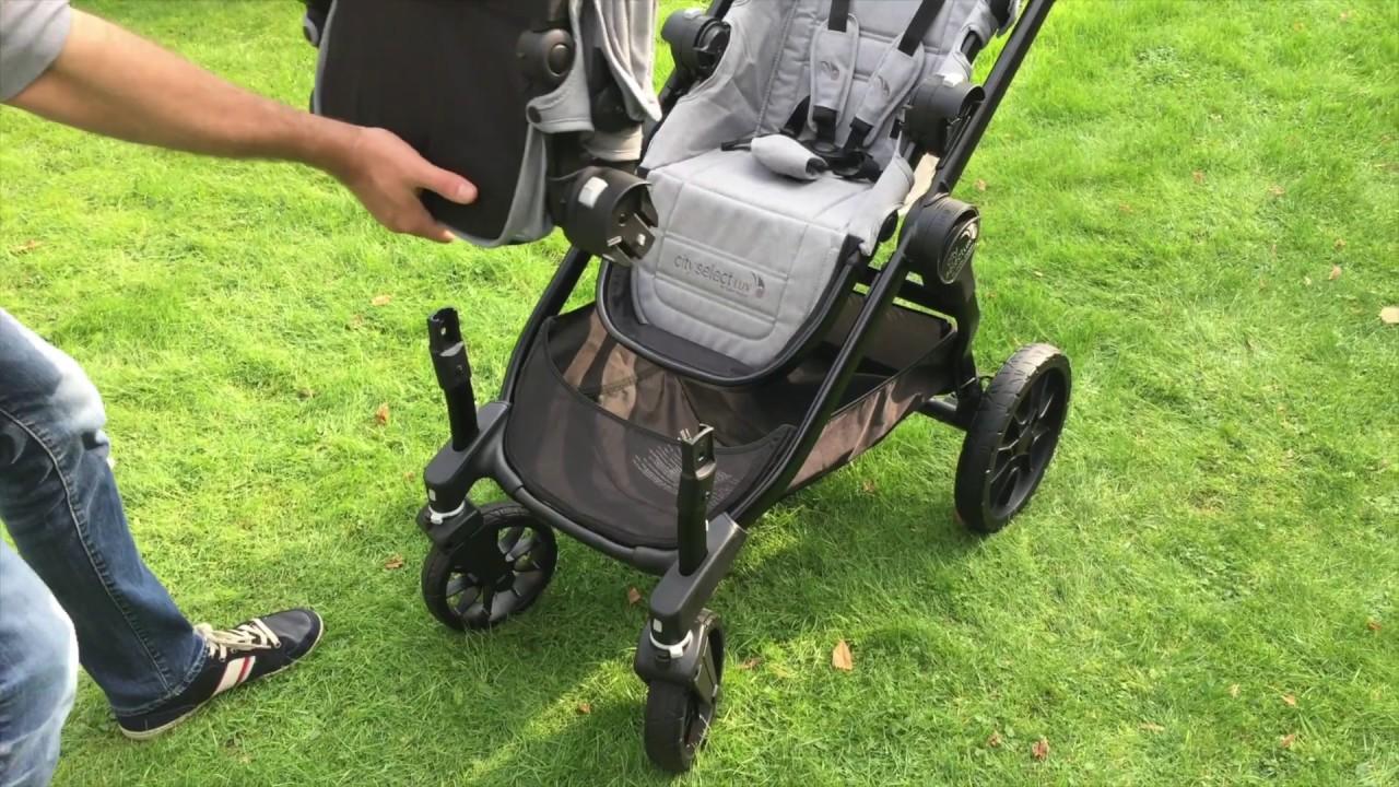 Zwillingskinderwagen emmaljunga  Baby Jogger City Select LUX: Kombinationen als Geschwister- oder ...