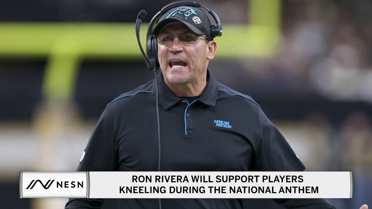 Ron Rivera Will Support Players Kneeling During the National Anthem