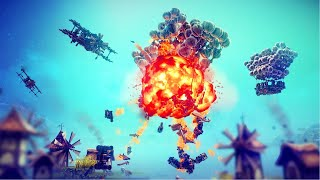 NEW Full-Campaign | Besiege Building Castle Siege Weapons & Battle Tanks Gameplay