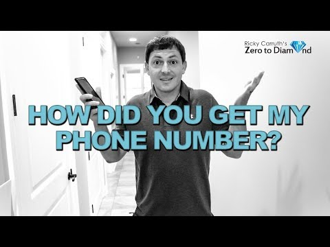 "Real Estate Cold Calling | ""How did you get my number?"""