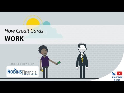 How Credit Cards Work: Robins Financial Credit Union