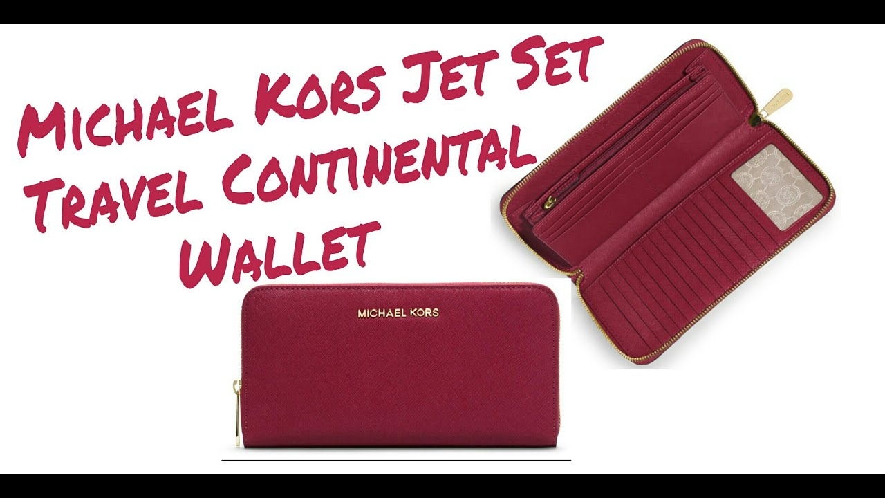 f794bd062d0a Michael kors Jet Set Travel Saffiano Continental Wallet | Wallet Review