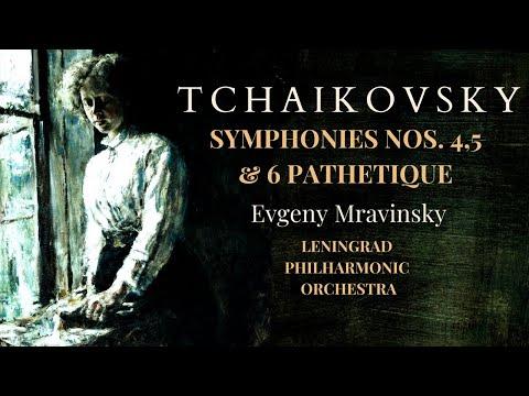 Tchaikovsky - Symphonies n°4,5,6 Pathetique (recording of the Century : Yevgeny Mravinsky)