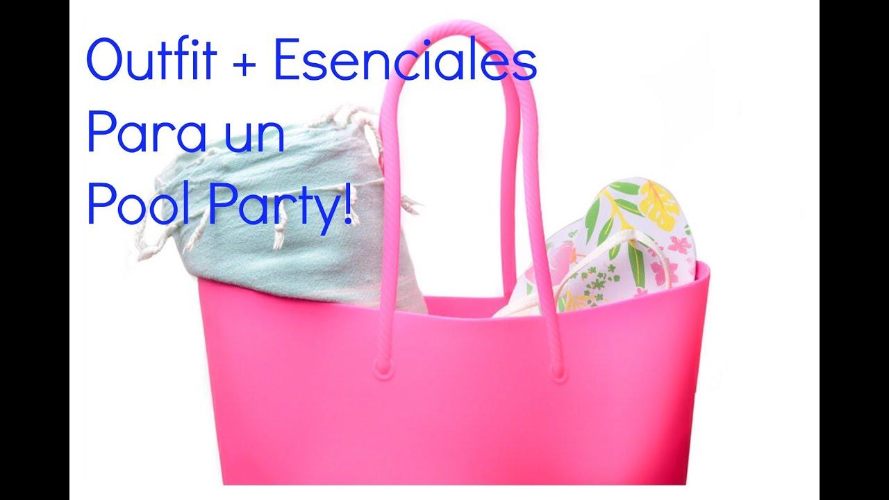 Como vestir para una fiesta en la Piscina + Esensiales para las ...